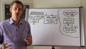Why start drawing today and become a visual facilitator yourself