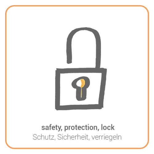safety, protection, lock