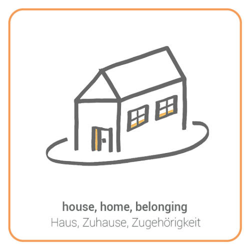 house, home, belonging