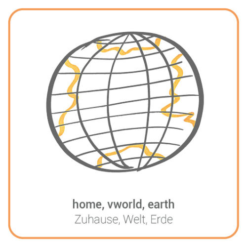 home, vworld, earth