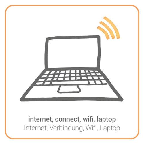 internet, connect, wifi, laptop