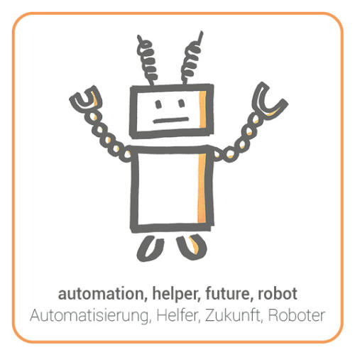automation, helper, future, robot