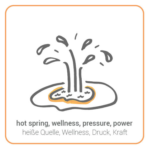hot spring, wellness, pressure, power