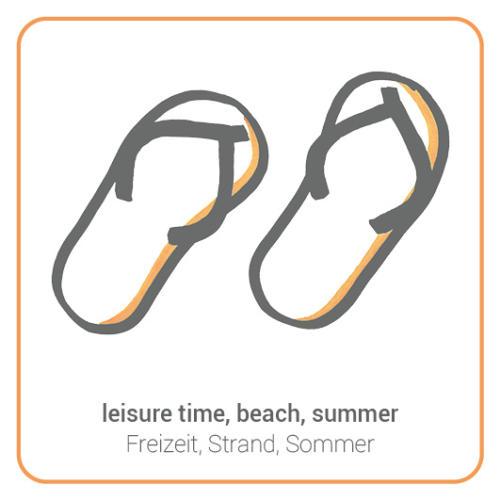 leisure time, beach, summer