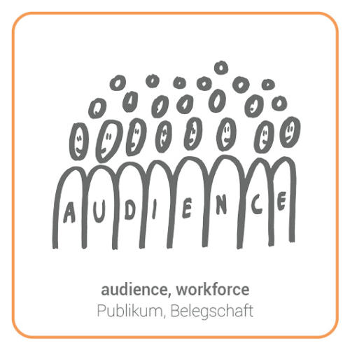audience, workforce