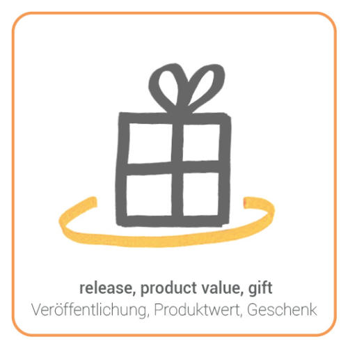release, product value, gift