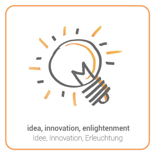 idea, innovation, enlightenment