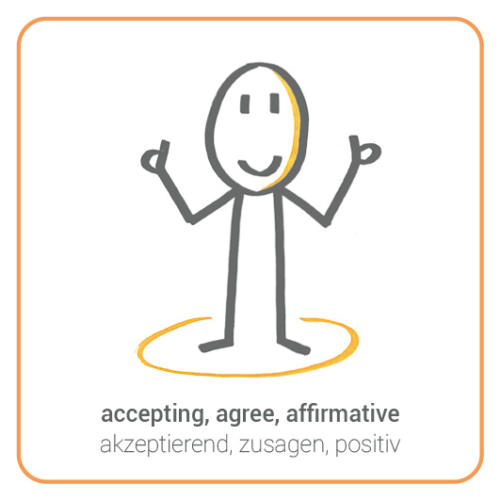 accepting, agree, affirmative, thumbs-up
