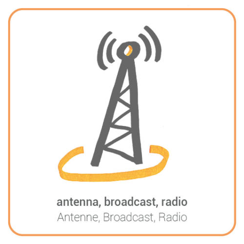 antenna, broadcast, radio