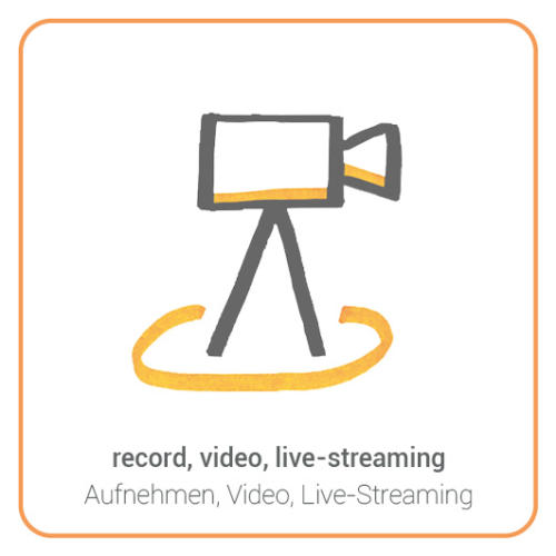 record, video, live-streaming