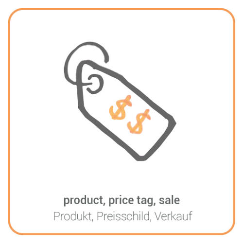 product, price tag, sale
